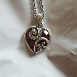 Brighton Red Heart Pendant